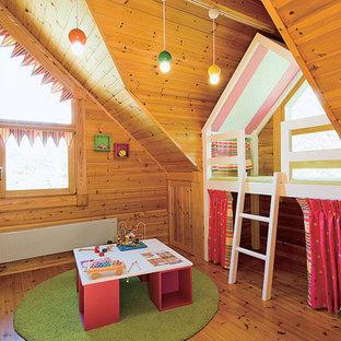 Foto di una cameretta per bambini nordica