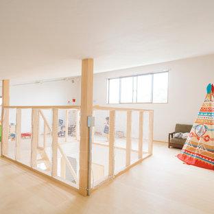 他の地域の和風のおしゃれな子供部屋の写真