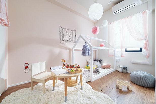 Rosa Kinderzimmer: So stilvoll kann die Prinzessinnen-Phase sein
