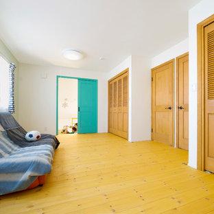 Immagine di una cameretta per bambini nordica