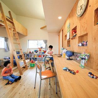 Foto på ett orientaliskt barnrum