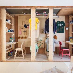 横浜の北欧スタイルの勉強部屋の画像 (児童向け)