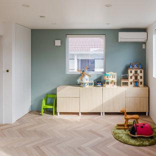 他の地域の北欧スタイルのおしゃれな子供部屋の写真