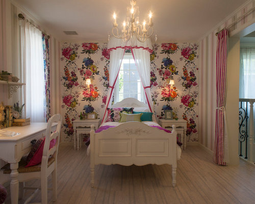 klassische kinderzimmer mit korkboden ideen design bilder houzz. Black Bedroom Furniture Sets. Home Design Ideas