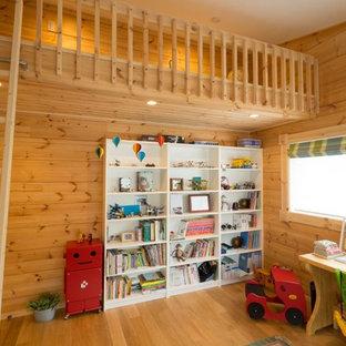 Foto di una cameretta per bambini scandinava