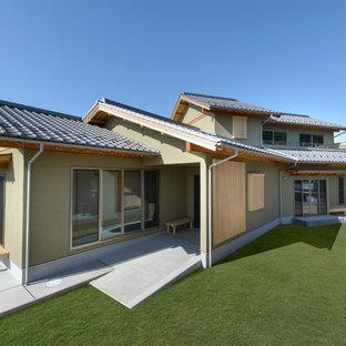 他の地域の和風のおしゃれな家の外観の写真