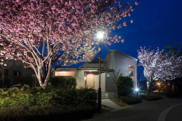モダン 家の外観 by andfujiizaki一級建築士事務所