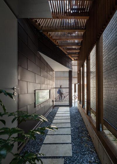 モダン 家の外観 by ギルド・デザイン一級建築士事務所