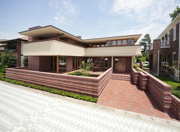 L 39 h ritage de frank lloyd wright aux architectes japonais - Architecte japonais ...