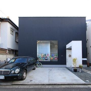 アトリエのある箱型の家 ハコノオウチ04