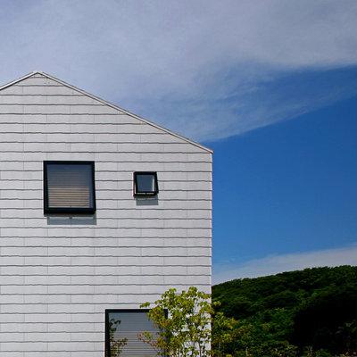 コンテンポラリー 家の外観 by アトリエハコ建築設計事務所