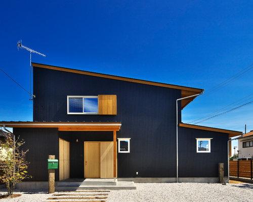 Häuser mit Holzfassade in Japan Ideen, Design & Bilder   Houzz