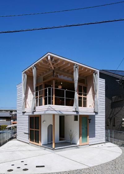 家の外観 by DABURA.m株式会社