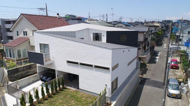 家の外観 by 前田敦計画工房合同会社