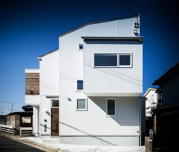 モダン エクステリア (外観・外構) by 斉藤建築設計室