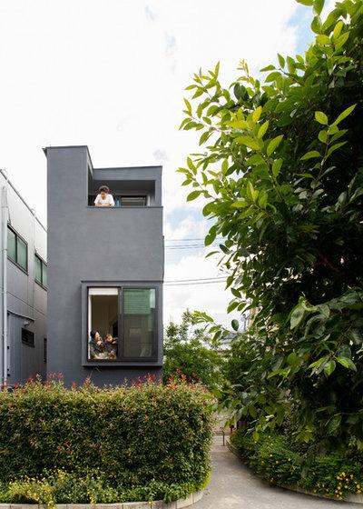 エクレクティック 家の外観 by アトリエハコ建築設計事務所