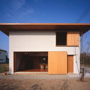 ミニマル×モダン和風の2世帯住宅