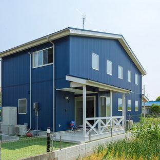 Inspiration for an industrial exterior home remodel in Other