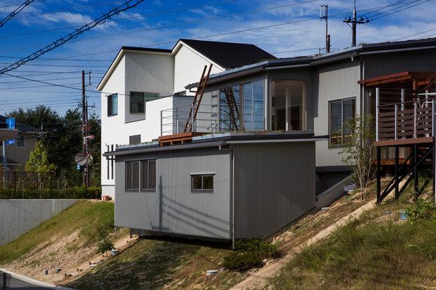 クラフツマン 家の外観 by grow design 一級建築士事務所