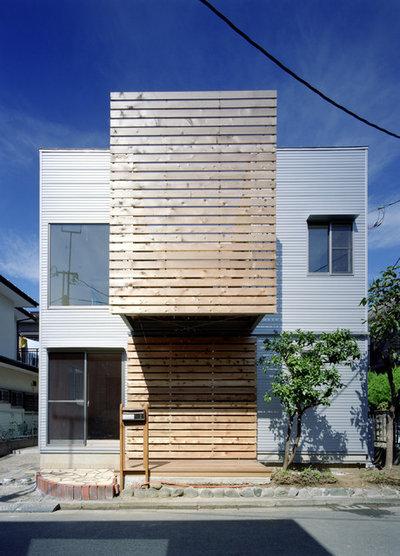 モダン エクステリア (外観・外構) by 天工舎一級建築士事務所