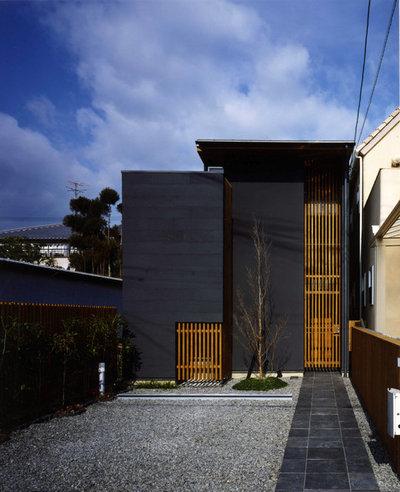 コンテンポラリー 家の外観 by アトリエ・K 建築研究室