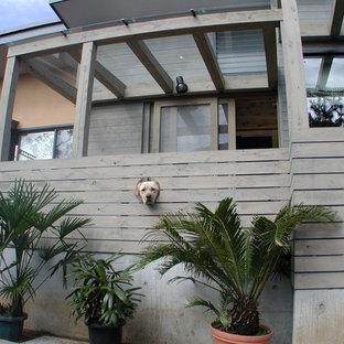Zen exterior home idea in Yokohama