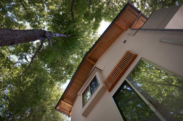 和室・和風 家の外観 by 一級建築士事務所マツザワ設計