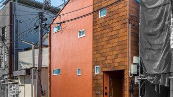 可愛らしい家に変わった、リノベーションアパートメント