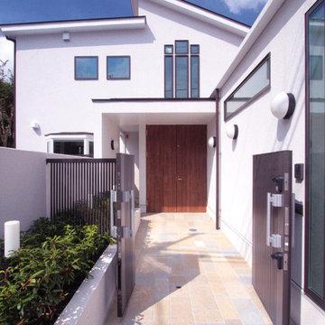 善福寺の家(無垢材と自然素材の2世帯住宅)