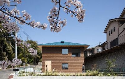 Japan Houzz Tour: A Crisscross Design Brings a Family Together