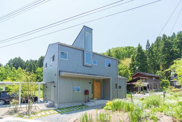 ミッドセンチュリー エクステリア (外観・外構) by タイラヤスヒロ建築設計事務所