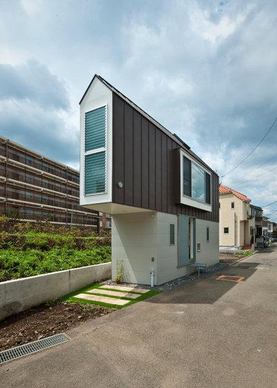 Modern Exterior by 一級建築士事務所 水石浩太建築設計室
