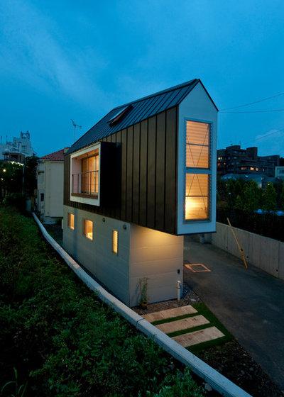 モダン エクステリア (外観・外構) by 一級建築士事務所 水石浩太建築設計室