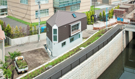 Casas Houzz: 55 m² repletos de ingenio en Tokio