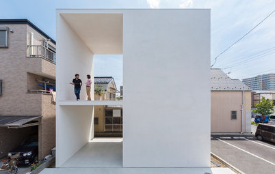 Il Balcone Incredibile di un'Abitazione a Tokyo