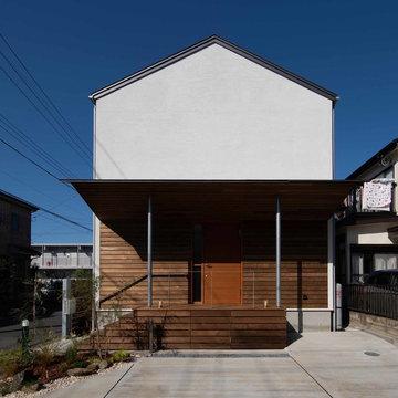 大きな窓の家in三郷