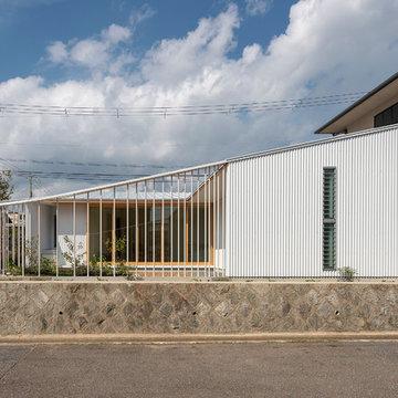 宝塚の家 LDKと庭が一体になる平屋 House in Takarazuka