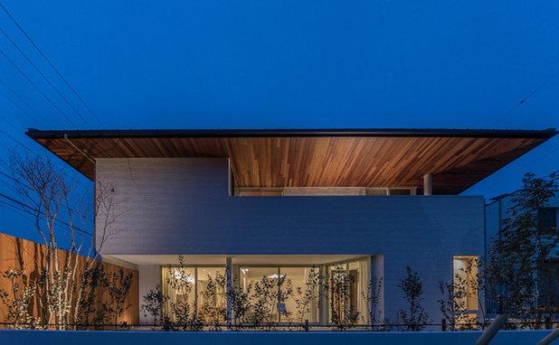 コンテンポラリー 家の外観 by ユナイテッドワークス一級建築士事務所