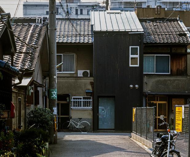 コンテンポラリー 家の外観 by 緒方幸樹建築設計事務所