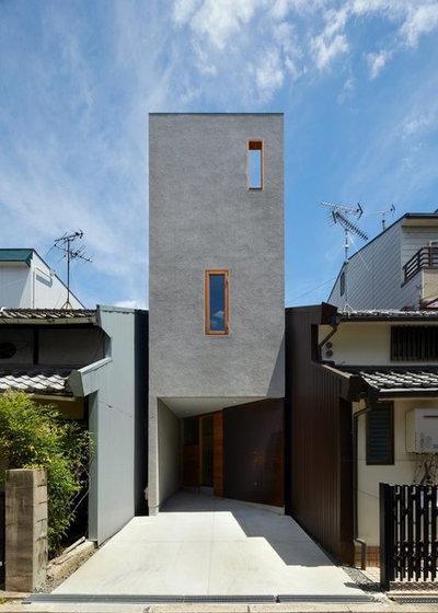 Modern Exterior by 藤原・室 建築設計事務所