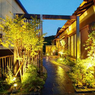 Example of an exterior home design in Tokyo Suburbs