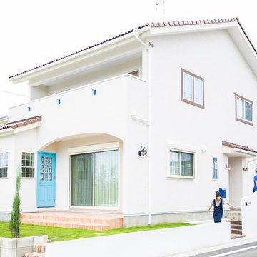 愛知県岩倉 北欧風の家