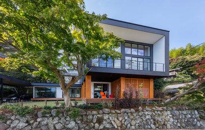 東京から熱海へ定住。高台からの眺めが美しいインテリアデザイナーが建てた家