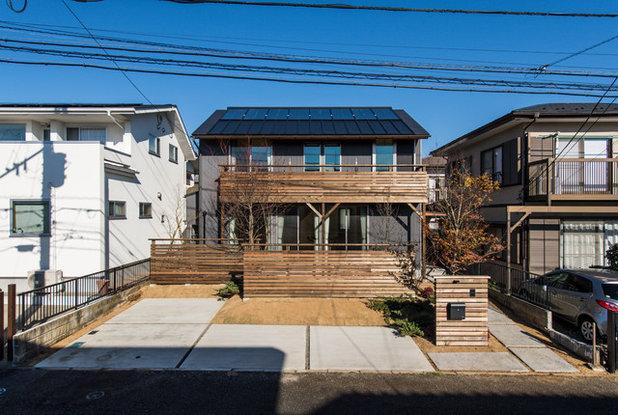 アジアン エクステリア (外観・外構) by 北村建築工房