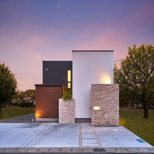 modern house windows small inspiration for modern multicolored wood flat roof remodel in other 75 most popular modern exterior home design ideas 2018 stylish