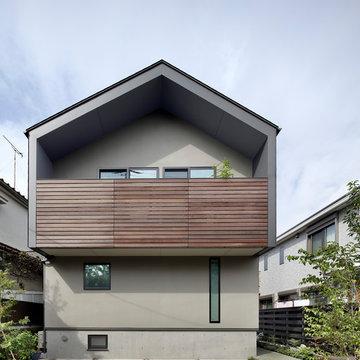 桜上水の住宅