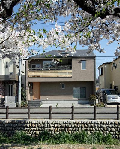 家の外観 by 一級建築士事務所 増岡設計室