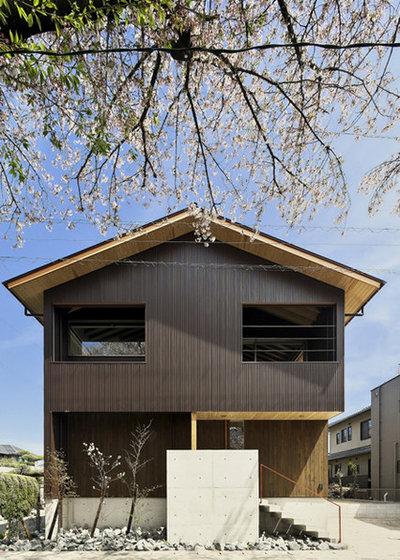 モダン 家の外観 by 五藤久佳デザインオフィス GOTO HISAYOSHI DESIGN OFFICE