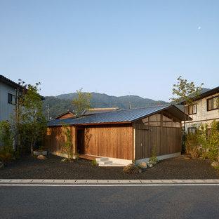 他の地域のアジアンスタイルのおしゃれな家の外観の写真
