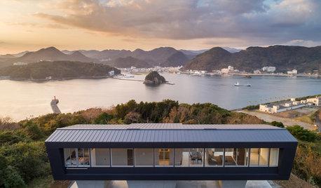 Houzz Tour: Slående hem med utsikt över havet